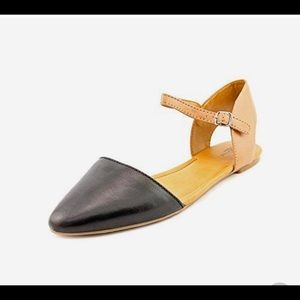 Lucky 🍀 Brand Pointed Toe Abbee Flats size 6